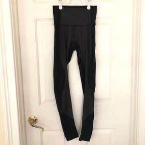 RARE Lululemon 3 Fabric Leggings, Size 4